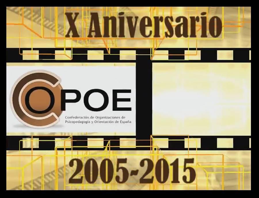 Vídeo conmemorativo de los 10 años de vida de COPOE