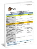 Nº 04 - Calendario de preinscripción y matriculación de las diferentes enseñanzas en Andalucía